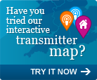 Have you tried our interactive transmitter map?
